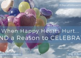 Day 8 Find a Reason to Celebrate