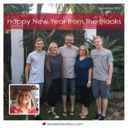 Happy New Year from the Blaaks